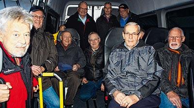 Kreuztaler Bürgerbusfahrer (c) Fotos: Anja Bieler-Barth